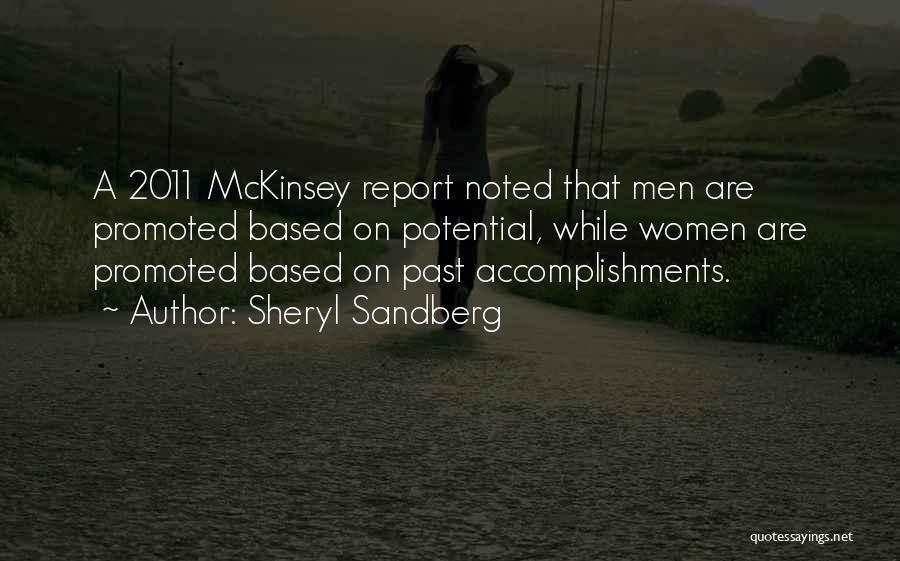 Mckinsey Quotes By Sheryl Sandberg