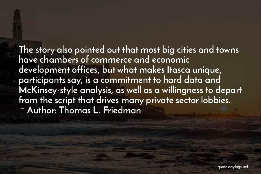 Mckinsey Quotes By Thomas L. Friedman