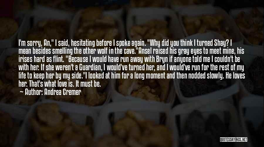 Me Before You Love Quotes By Andrea Cremer