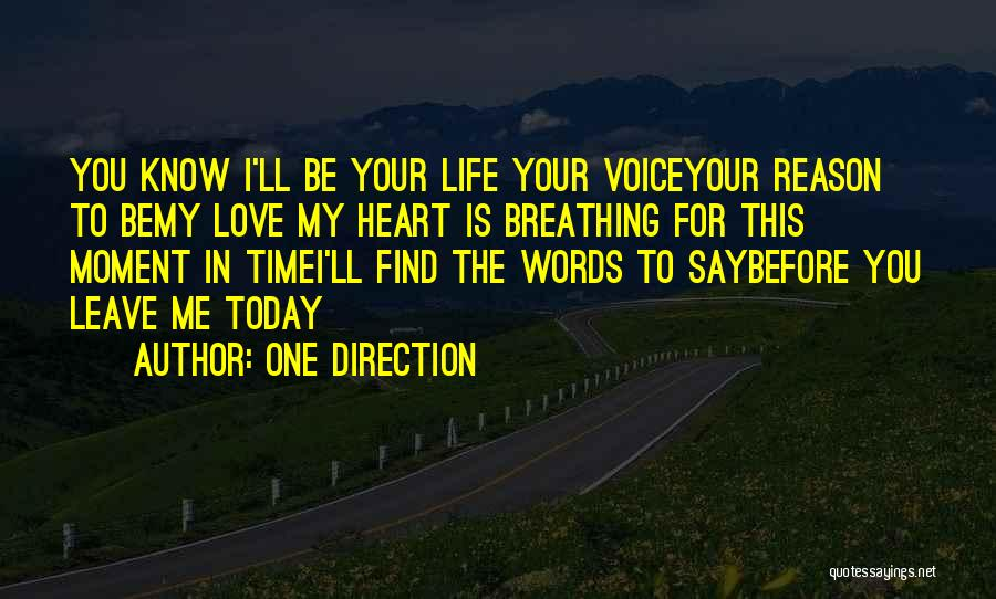 Me Before You Love Quotes By One Direction
