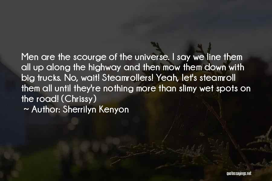 Me Mow Quotes By Sherrilyn Kenyon