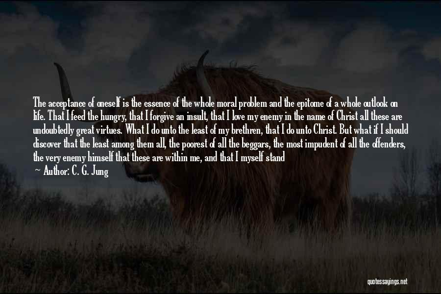 Me Myself Attitude Quotes By C. G. Jung
