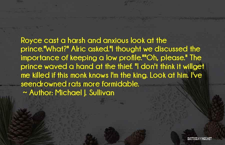 Me Profile Quotes By Michael J. Sullivan