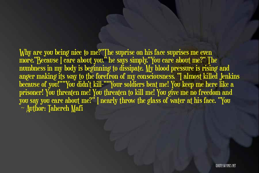 Me Profile Quotes By Tahereh Mafi
