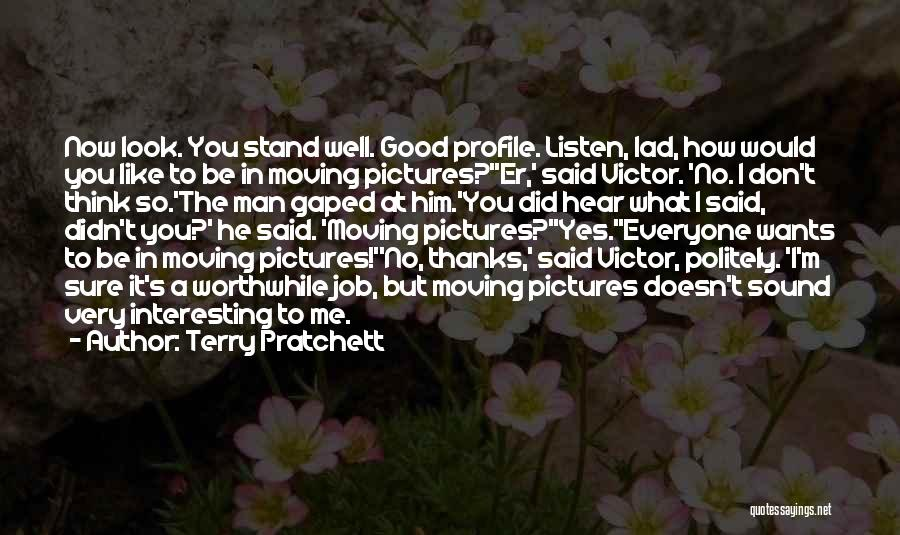 Me Profile Quotes By Terry Pratchett