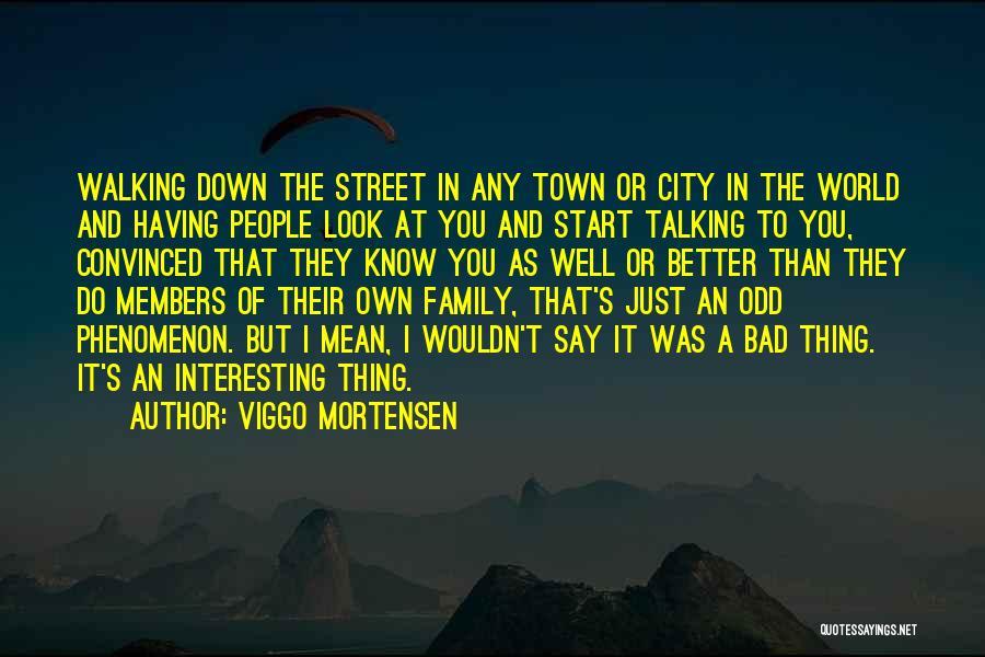 Mean Family Members Quotes By Viggo Mortensen