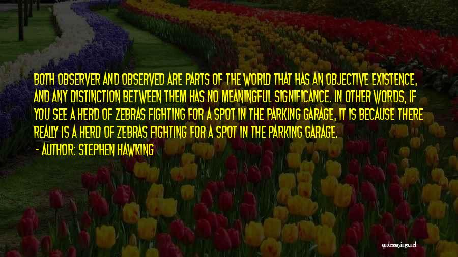 Meaningful Existence Quotes By Stephen Hawking