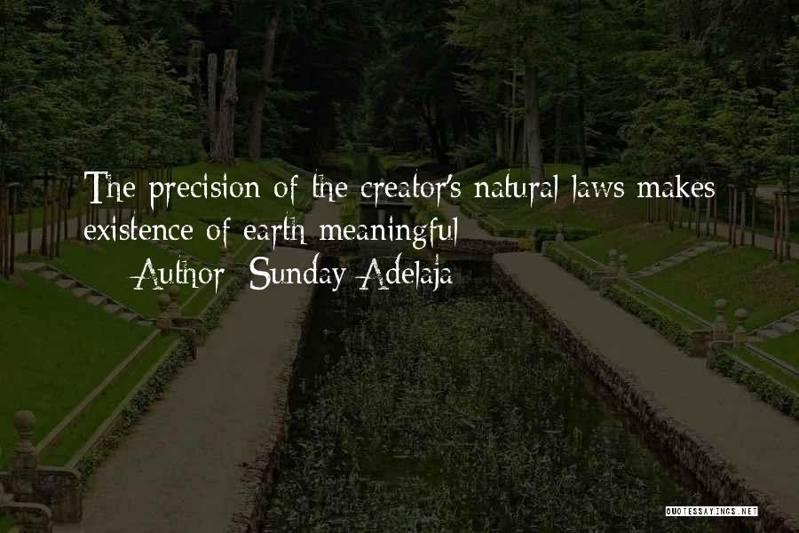 Meaningful Existence Quotes By Sunday Adelaja