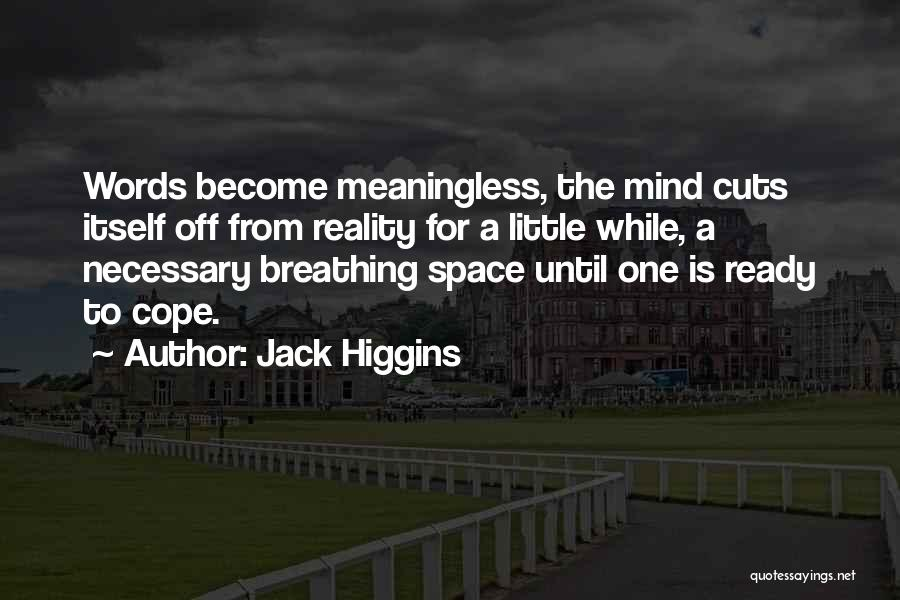 Meaningless Words Quotes By Jack Higgins