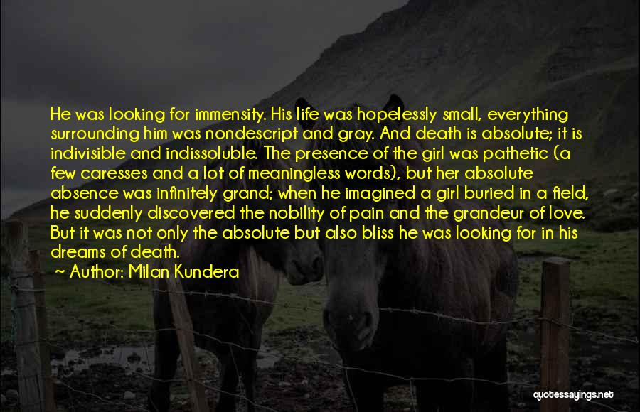 Meaningless Words Quotes By Milan Kundera