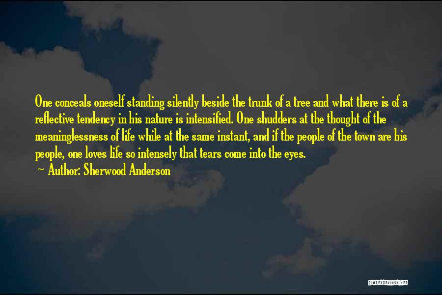Meaninglessness Of Life Quotes By Sherwood Anderson