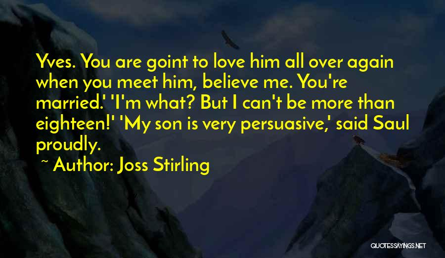 Meet Me Quotes By Joss Stirling
