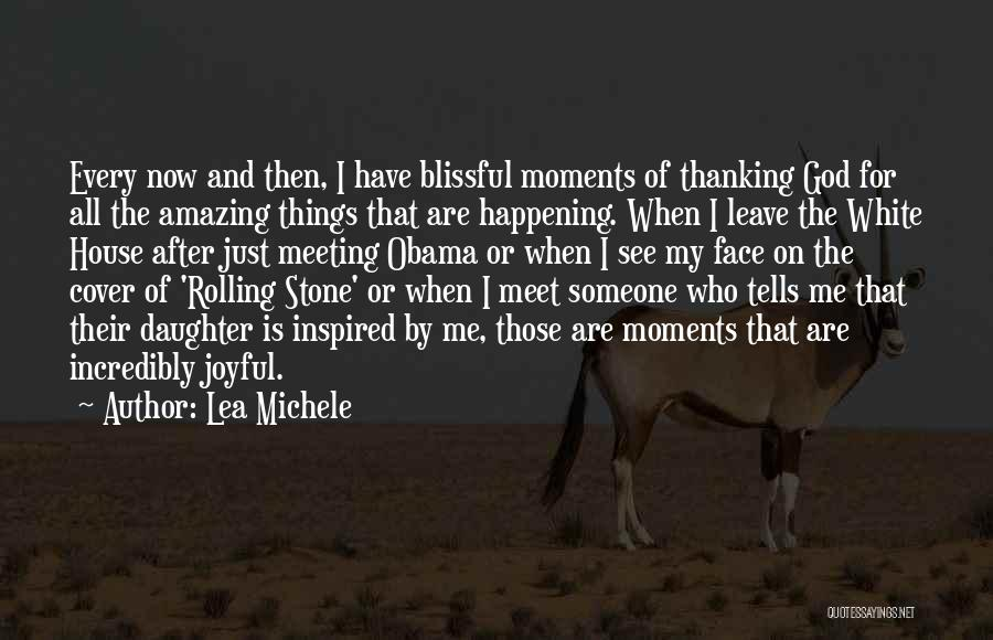 Meet Me Quotes By Lea Michele