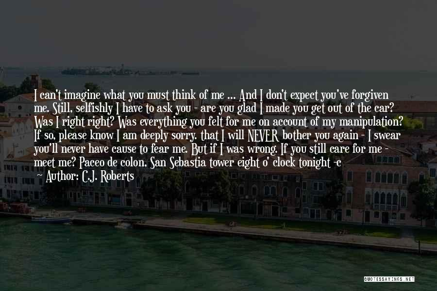 Meet Me Tonight Quotes By C.J. Roberts