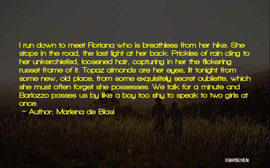 Meet Me Tonight Quotes By Marlena De Blasi
