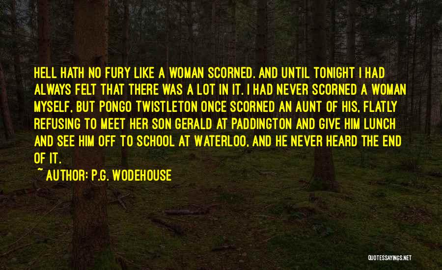 Meet Me Tonight Quotes By P.G. Wodehouse