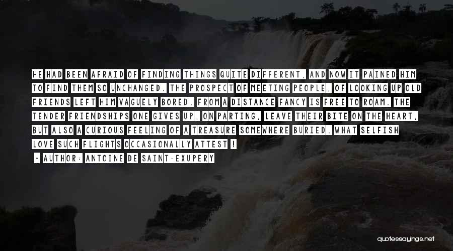 Meeting Old Friends Quotes By Antoine De Saint-Exupery