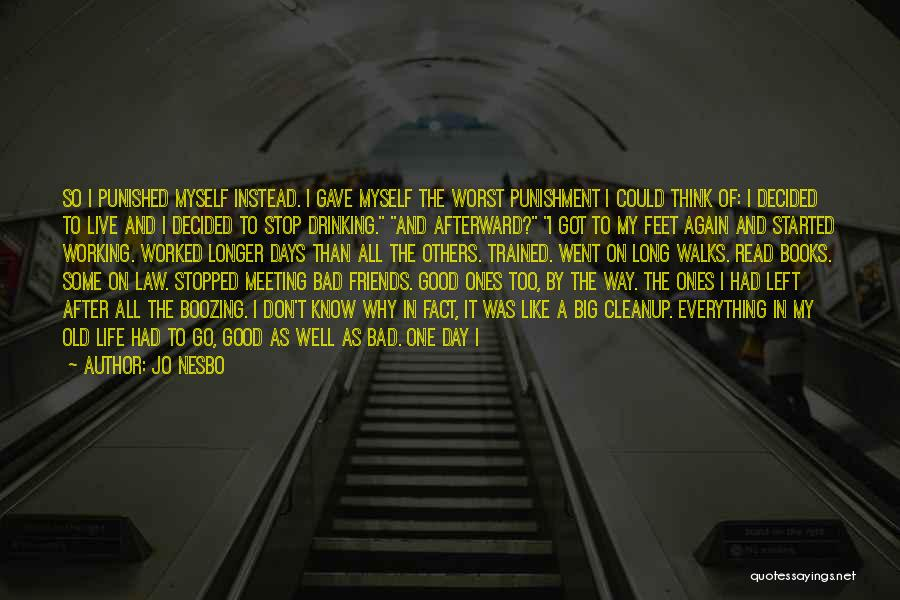 Meeting Old Friends Quotes By Jo Nesbo
