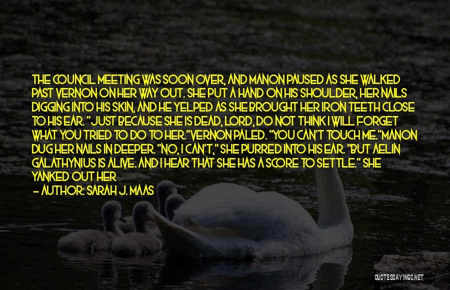 Meeting Soon Quotes By Sarah J. Maas