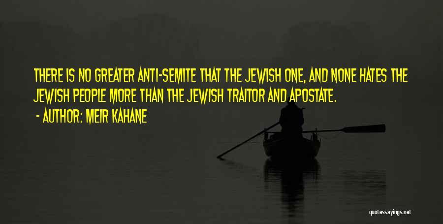 Meir Kahane Quotes 857956