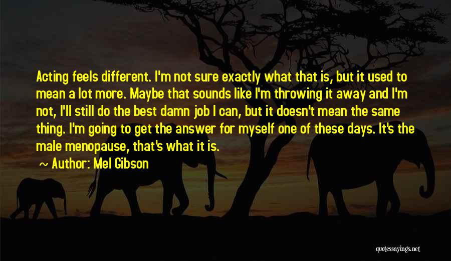 Mel Gibson Quotes 1520364