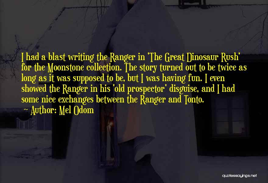 Mel Odom Quotes 1247142