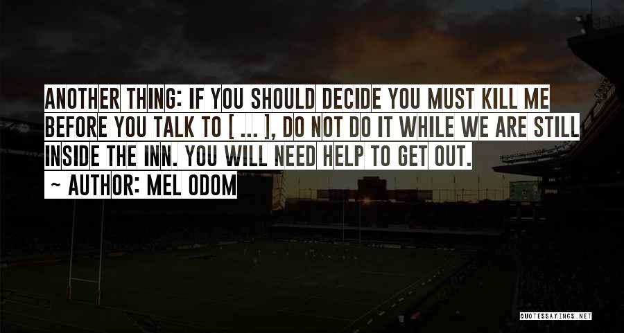 Mel Odom Quotes 145805