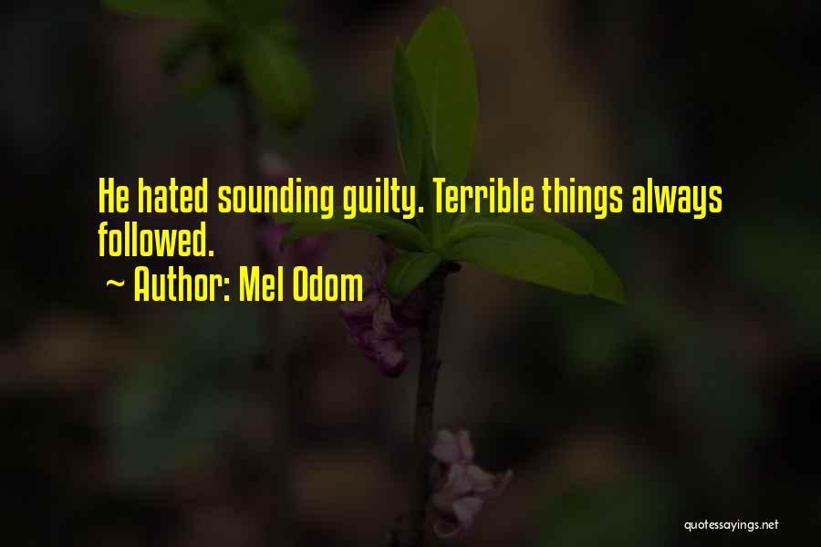 Mel Odom Quotes 1953042