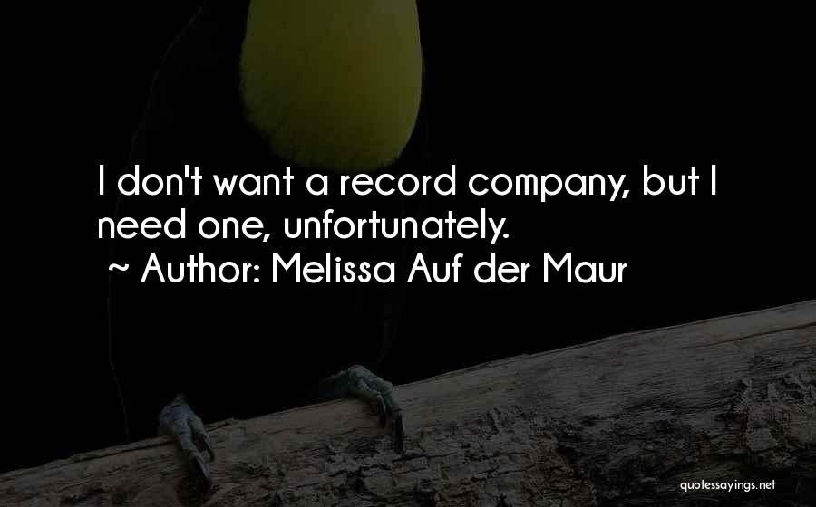 Melissa Auf Der Maur Quotes 1121161