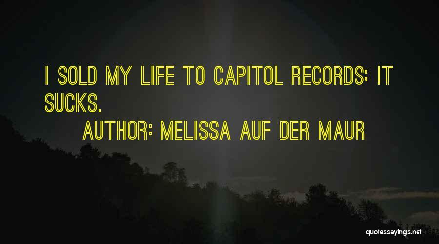 Melissa Auf Der Maur Quotes 93578