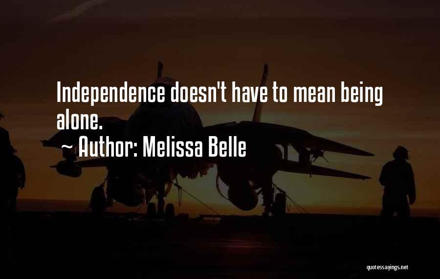 Melissa Belle Quotes 1326599