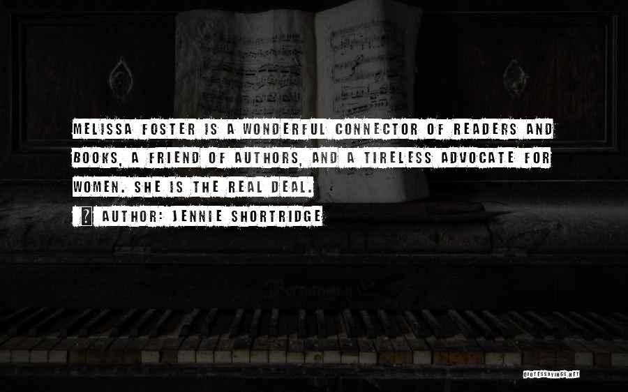 Melissa Cox Quotes By Jennie Shortridge