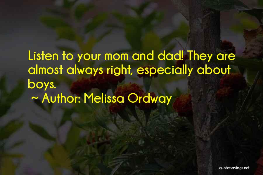 Melissa Ordway Quotes 1767019