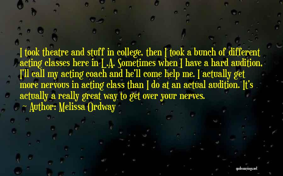 Melissa Ordway Quotes 185767