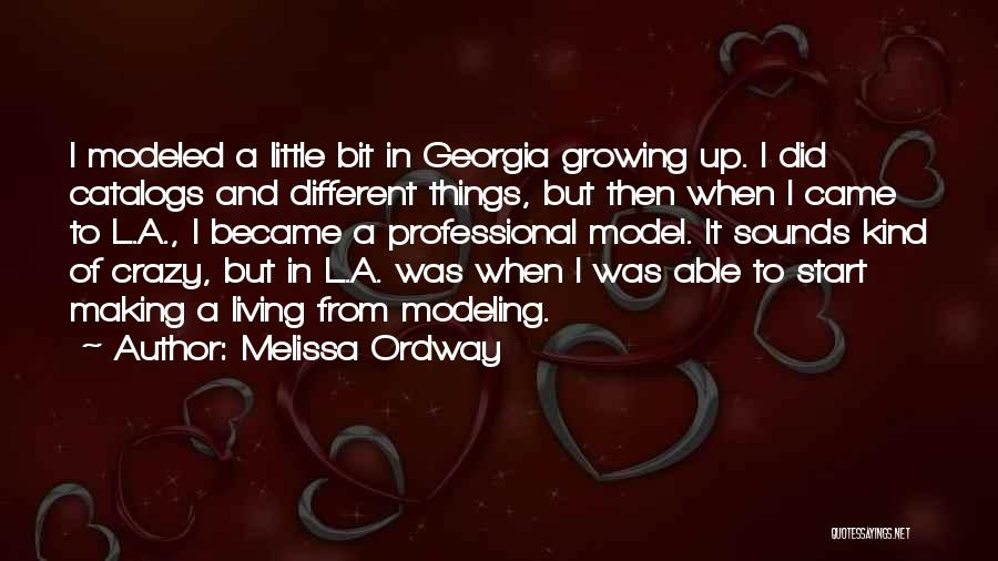 Melissa Ordway Quotes 473718