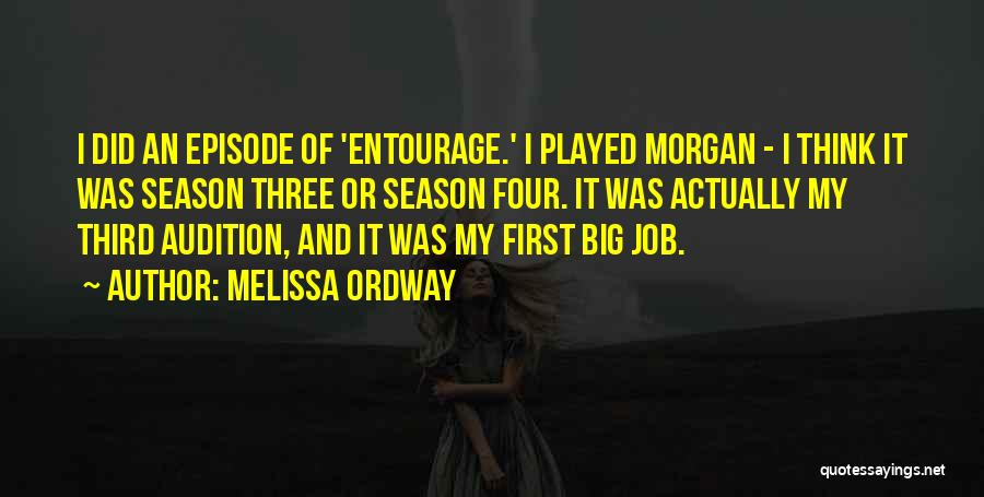 Melissa Ordway Quotes 813721