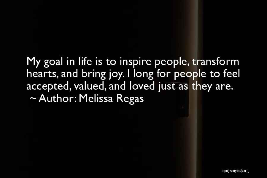 Melissa Regas Quotes 283075