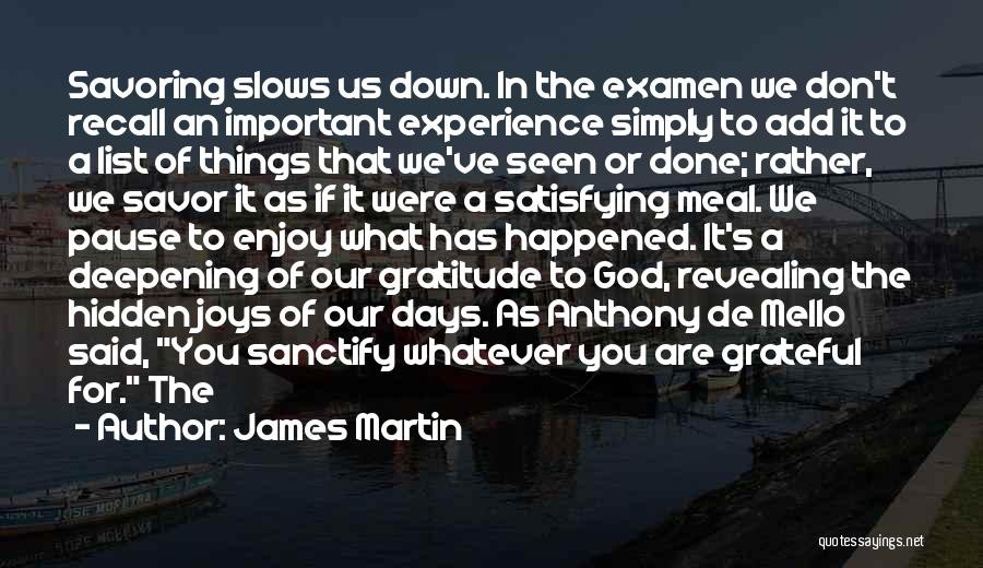 Mello Quotes By James Martin