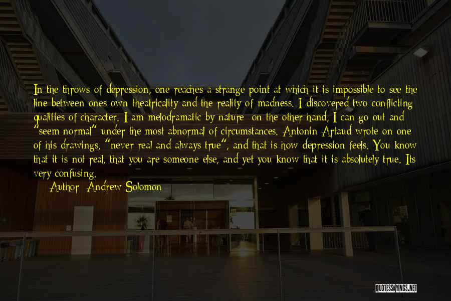 Melodramatic Quotes By Andrew Solomon