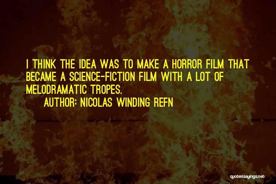 Melodramatic Quotes By Nicolas Winding Refn