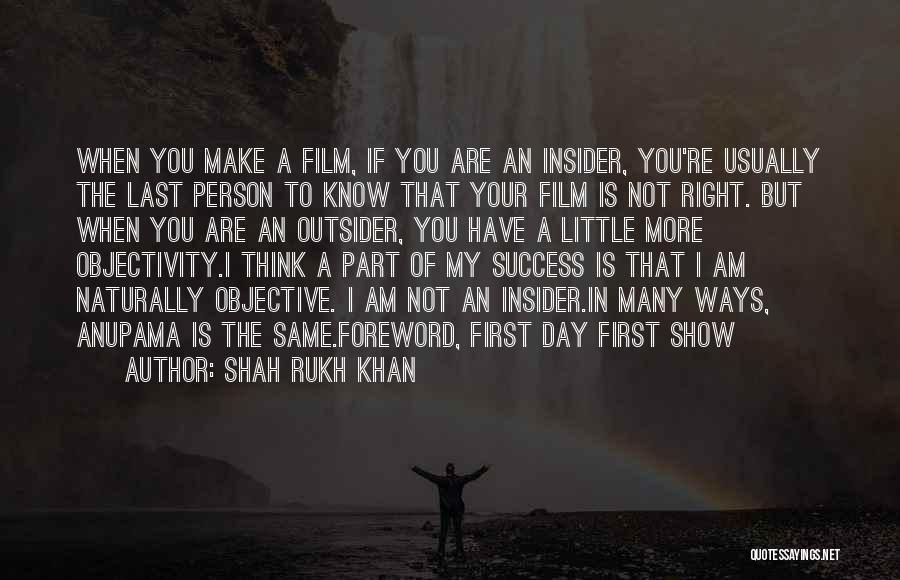 Melodramatic Quotes By Shah Rukh Khan