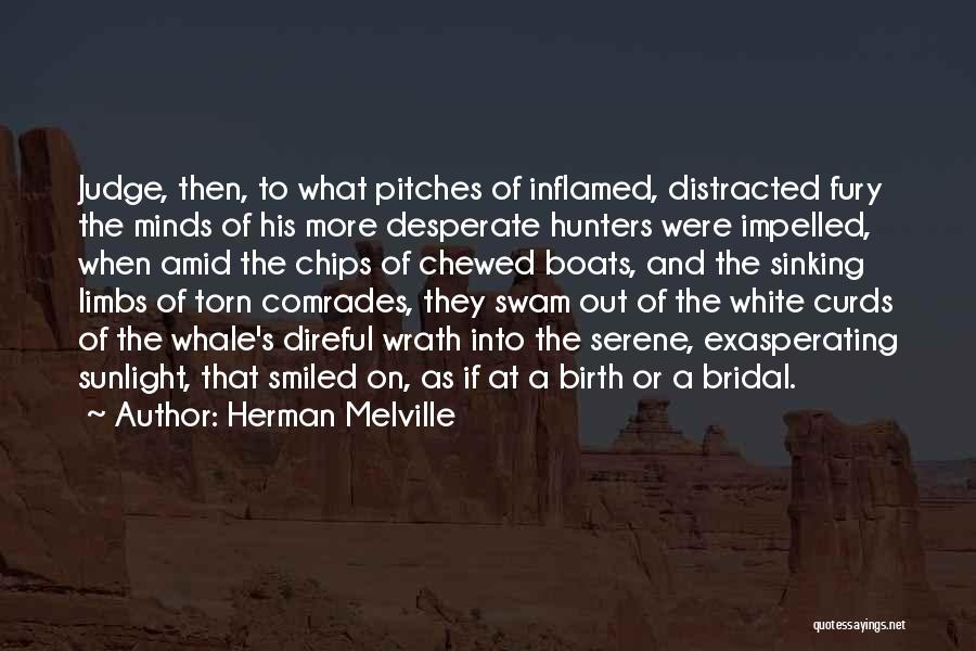 Melville White Whale Quotes By Herman Melville