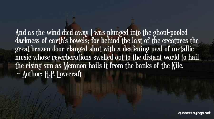 Memnon Quotes By H.P. Lovecraft