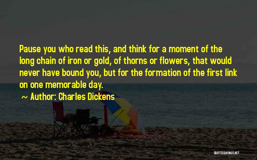 Memorable Quotes By Charles Dickens