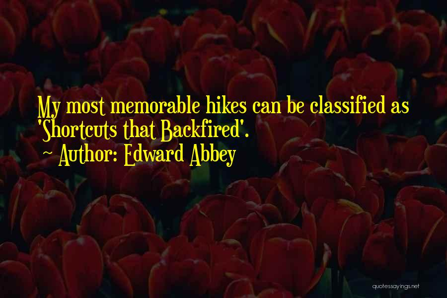 Memorable Quotes By Edward Abbey