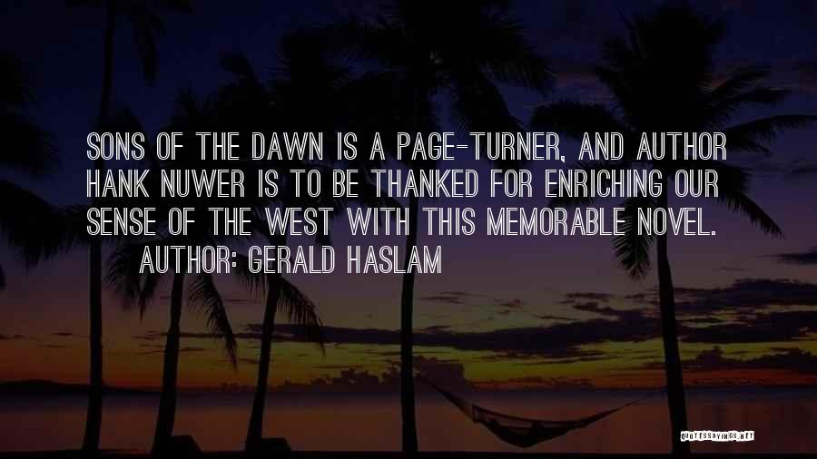 Memorable Quotes By Gerald Haslam