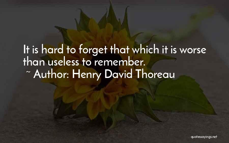 Memorable Quotes By Henry David Thoreau