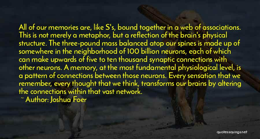 Memories Is All We Have Quotes By Joshua Foer