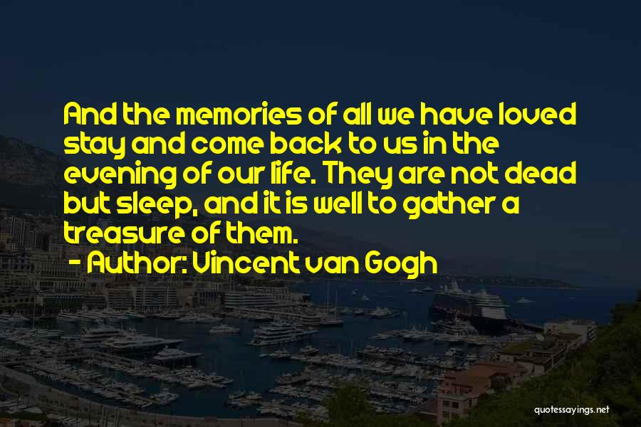 Memories Is All We Have Quotes By Vincent Van Gogh