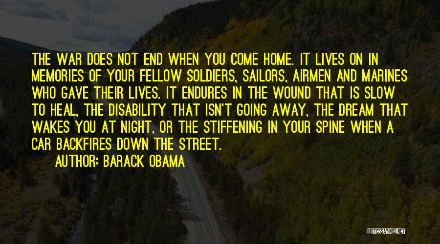 Memories Of Home Quotes By Barack Obama